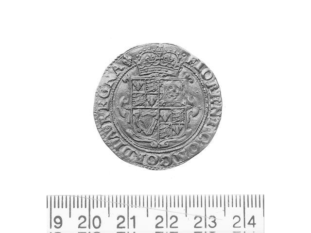 Charles I, (1625-1649), Unite, mm lis (1625) (S.2688).