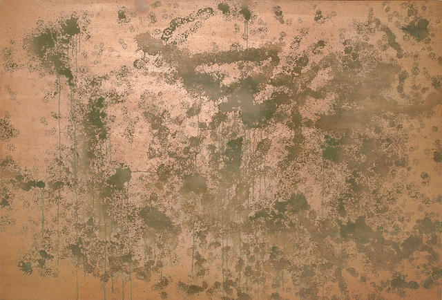 Andy Warhol (1928-1987) Oxidation Painting, 1979 132 x 193 cm. (52 x 76 in.)