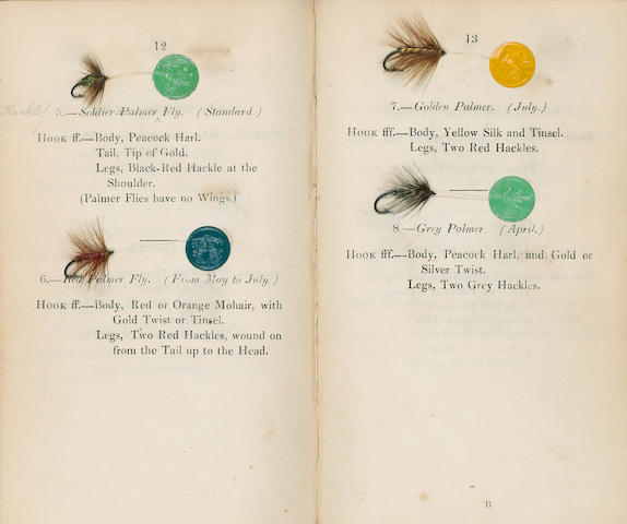 BLACKER (WILLIAM) Art of Angling, and Complete System of Fly Making, and Dying of Colours