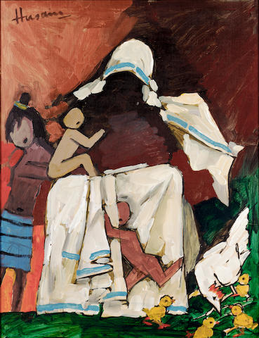 Maqbool Fida Husain (India, b.1915) Mother Teresa