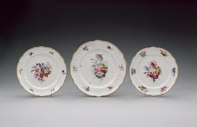 A Nantgarw plate circa 1818-20