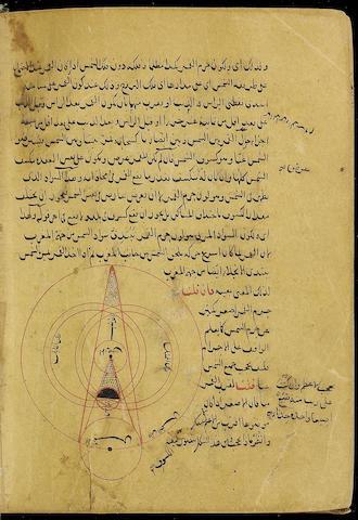 Muhammad ibn Muhammad al-Jaghmini, Sharh al-mulakhas fi `ilm al-hay'ah