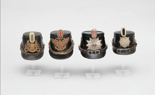 A German other rank's shako