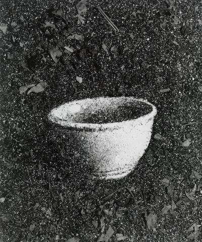 Vik Muniz (b.1961) Bowl (Pictures of Soil) 56 x 46 cm.