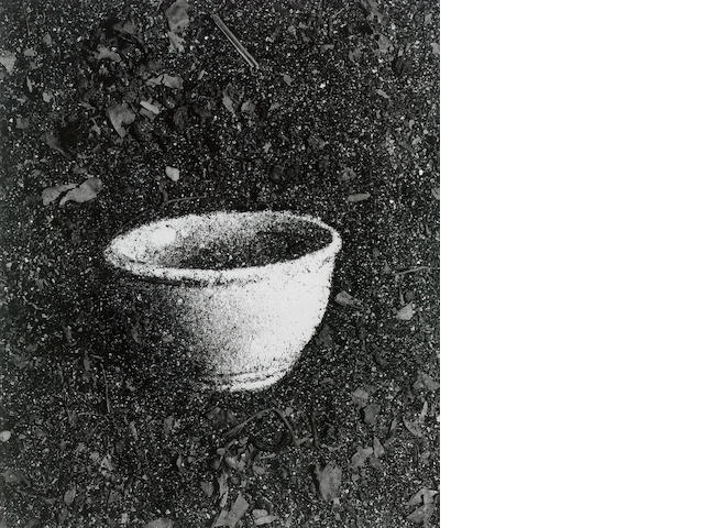 Vik Muniz (b.1961) Bowl (Pictures of Soil) 56 x 46 cm.