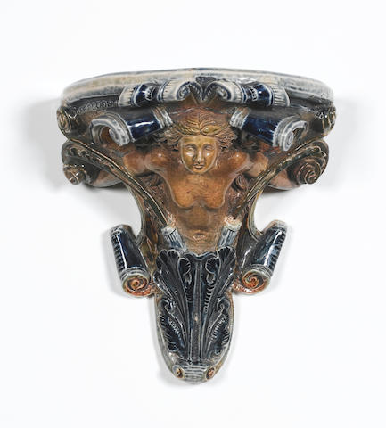 Robert Wallace Martin, 1878 An Unusual Figural Wall Bracket