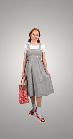 "Judy Garland's Dressfrom ""Wizard of Oz"""