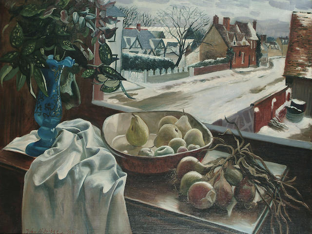John Aldridge (British, 1905-1984) Winter Table 26 x 33in. (66 x 84cm.)