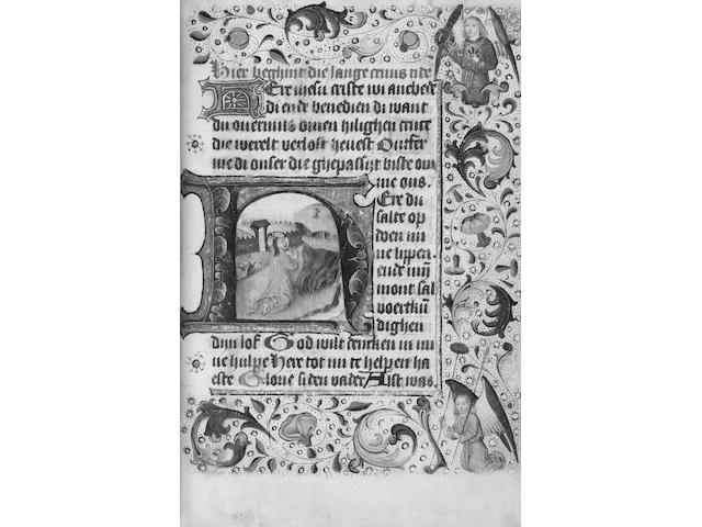 BOOK OF HOURS, Use of Utrecht Book of Hours