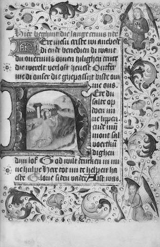 BOOK OF HOURS Book of Hours, Use of Utrecht, in Dutch