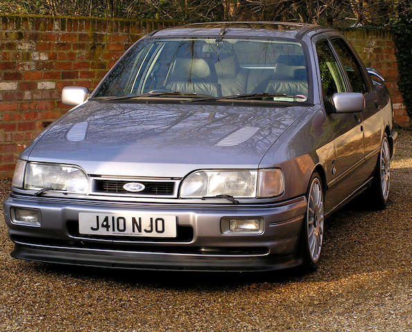 One owner from new,1991 Ford Sierra Sapphire RS Cosworth 4x4 Saloon  Chassis no. WFOFXXGBBFLU43961 Engine no. LU43961