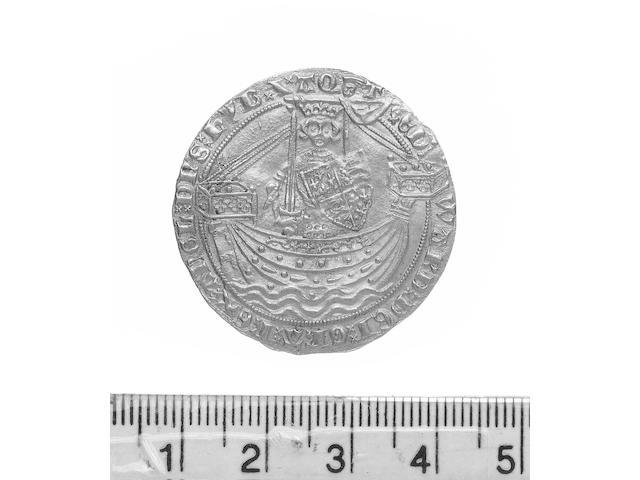 Edward III, Treaty Noble (S.1502), London.