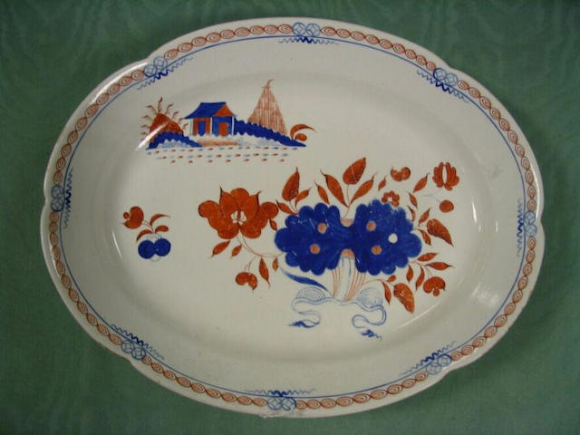 An early 19th Century English serving dish