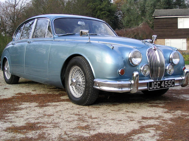 1965 Jaguar Mk2 3.8-Litre Saloon  Chassis no. A234025DN Engine no. LE2128-8