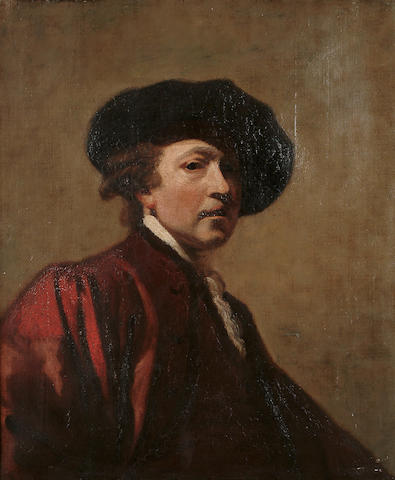 English School, 19th Century, After Sir Joshua Reynolds A self portrait of the artist, 29 1/2 x 24 5