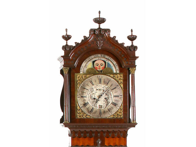An 18th Century mahogany longcase clock.Robert Schofield Of Rochdale.