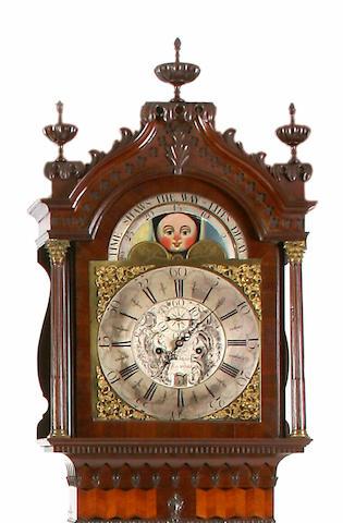 An 18th Century mahogany longcase clock.Robert Schofield Of Rochdale.