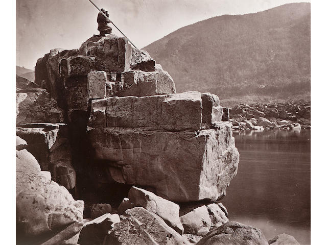 John Thomson F.R.G.S. (British, 1837-1921) Foochow and the River Min, a bound album of eighty photog