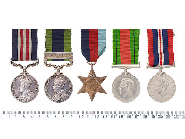 A rare Interwar M.M. group of five to Sergeant P.C.Smith, Royal Signals,