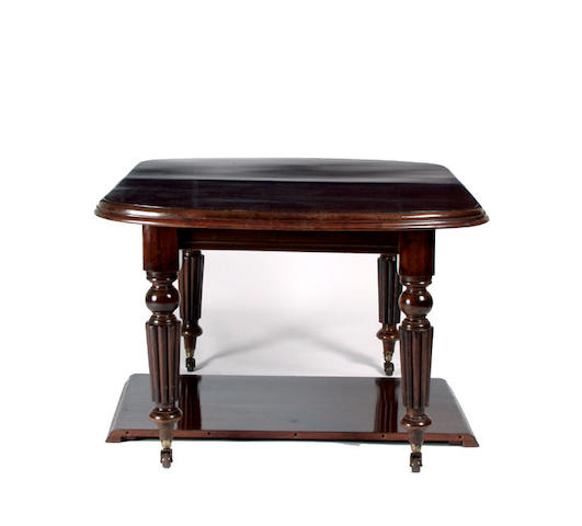 A 19th Century mahogany dining table