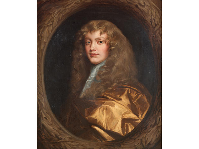 Circle of Mary Beale (Barrow 1633-1699 London) Portrait of a gentleman, bust-length, 75.3 x 63.2 cm.
