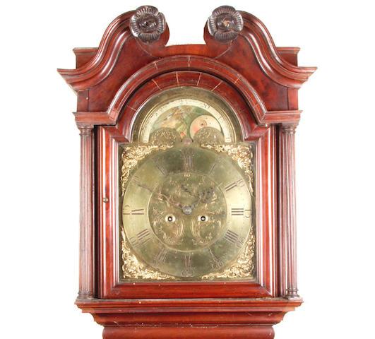 A mahogany cased 8-day longcase clockTootel, St Helen