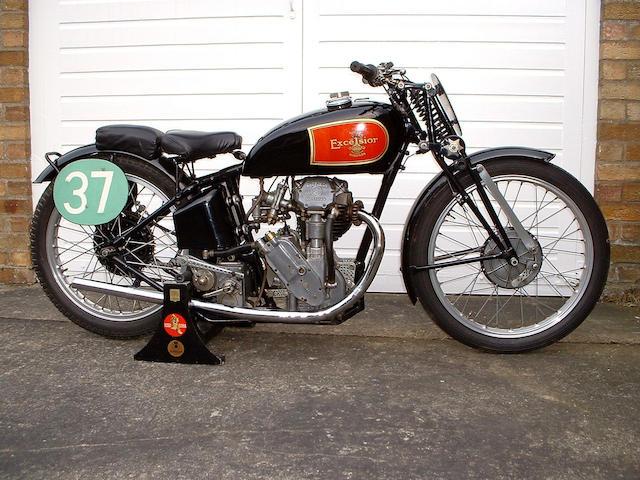 The ex-J A Worswick,1937 Excelsior Manxman 250cc Racing Motorcycle  Frame no. MRG 205 Engine no. BRAR/S 114