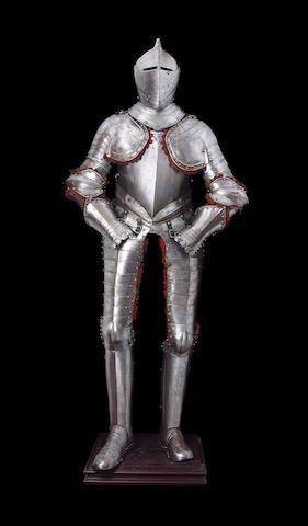 A Composite Cuirassier Armour