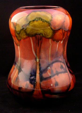 A Moorcroft flambé 'Landscape' vase, circa 1930,