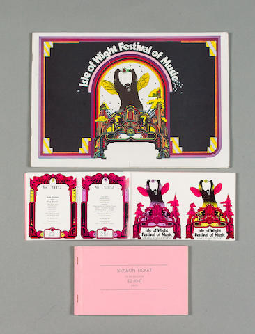 1969/1970 Isle of Wight Festival material,