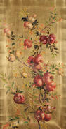 William Hughes (British 1842-1901) Pomegranates 113 x 59.5 cm.