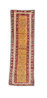 A North West Persian runner 9 ft 6 in x 3 ft (290 x 90 cm)