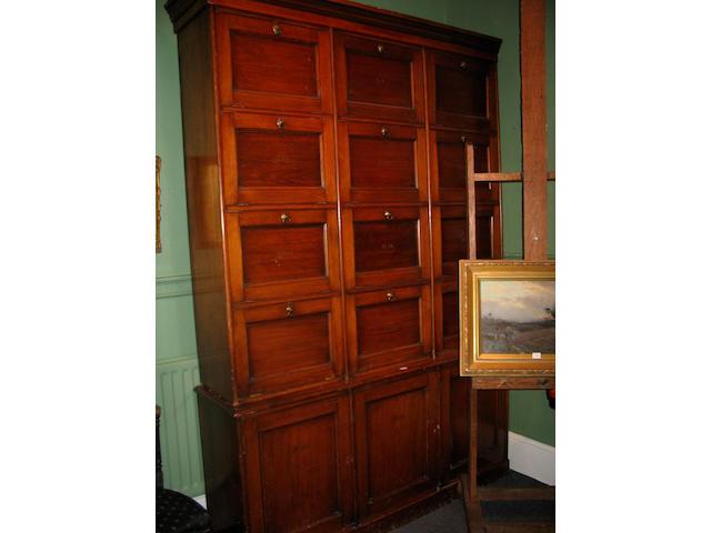 A 19th Century pine Boles Cabinet,