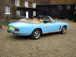 1973 Jensen Interceptor Series III Convertible  Chassis no. 2340 PP001 Engine no. 4C12211