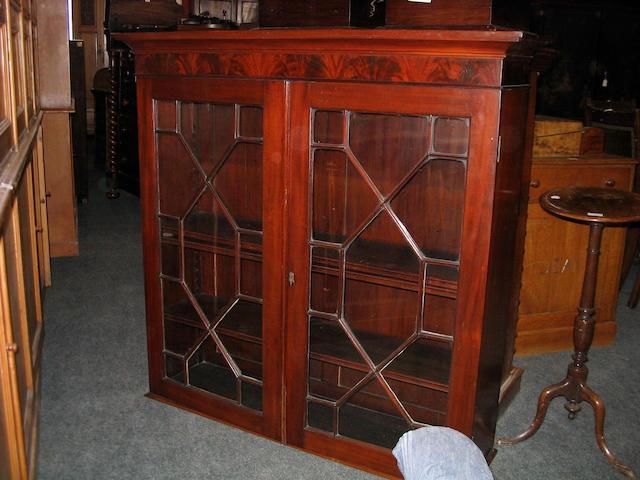 A 19th Century mahogany Bookcase Top,