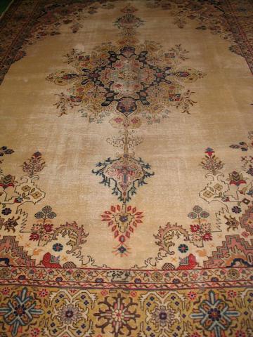 A Tabriz carpet North West Persia, 395cm x 270cm