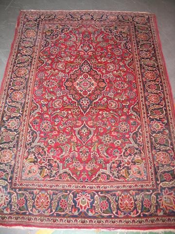 A Kashan rug Central Persia, 172cm x 115cm