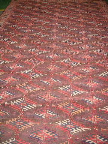 A Yomut carpet West Turkestan, 370cm x 223cm