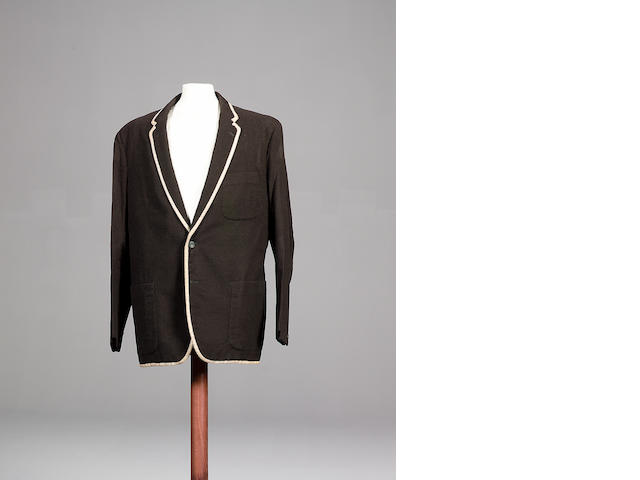 Patrick McGoohan's trademark blazer from the cult TV programme 'The Prisoner',