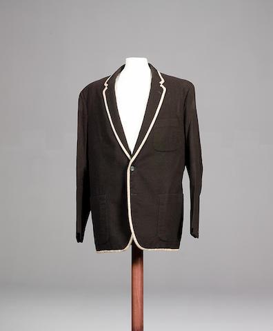 Patrick McGoohan's trademark blazer from the cult TV programme 'The Prisoner',