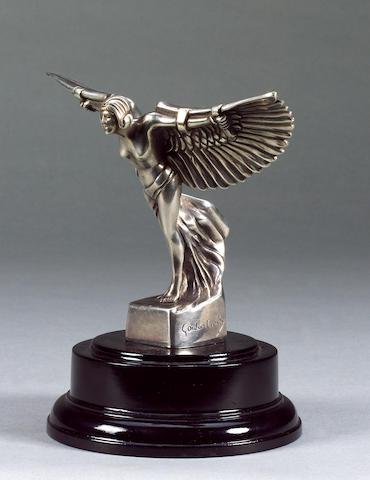 A rare Bentley Icarus mascot by Frederick Gordon Crosby, British, 1920s,