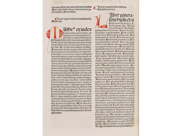BIBLE, in Latin [Biblia Latina]