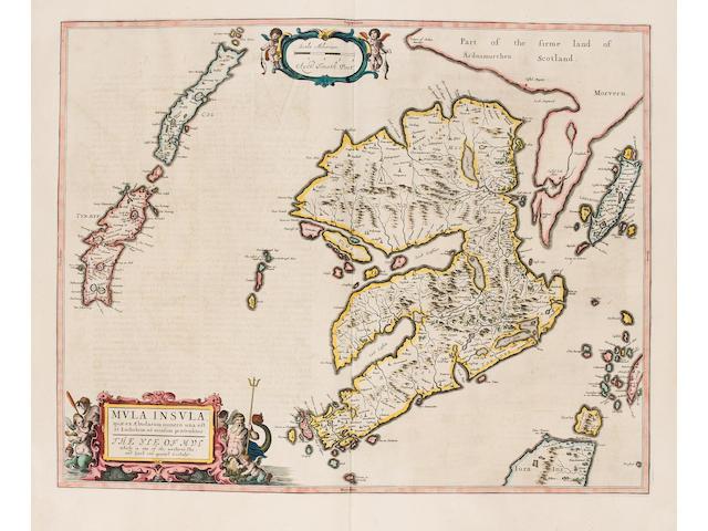 BLAEU (JAN) Theatrum orbis terrarum, sive Atlas novus, pars quinta [Scotland and Ireland]
