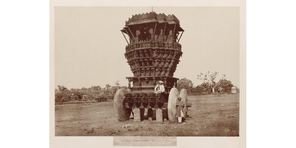 INDIA, W.H. PIGOU TAYLOR (Colonel MEADOWS) and JAMES FERGUSSON. Architecture in Dharwar and Mysore. Photographed by the Late Dr. Pigou, Bombay Medical Service, A.C.B. Neill Esq. and Colonel Biggs, Late of the Royal Artillery, Published for the Committee of Architectural Antiquities of Western India under the Patronage of Premchund Raichund, 1866