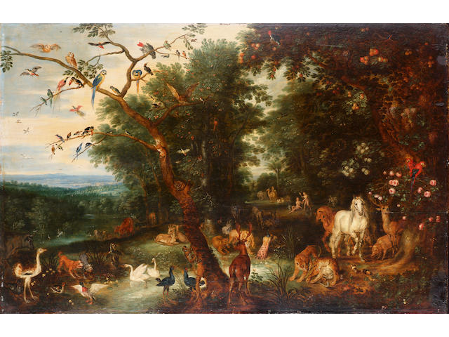 Jan Brueghel the Younger Adam and Eve in the Garden of Eden