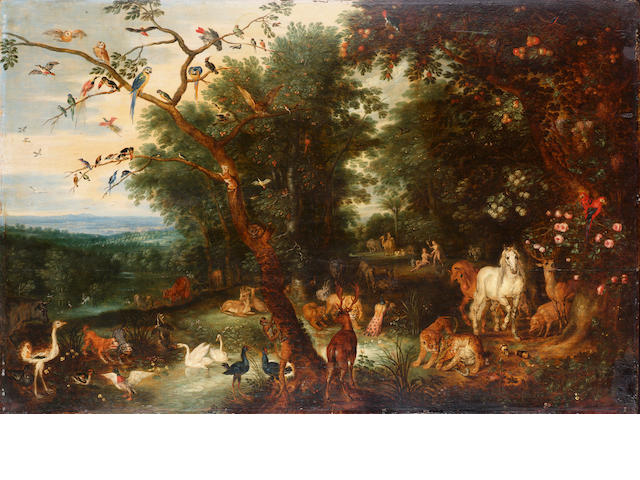 Jan Brueghel the Younger Adam and Eve in the Garden of Eden