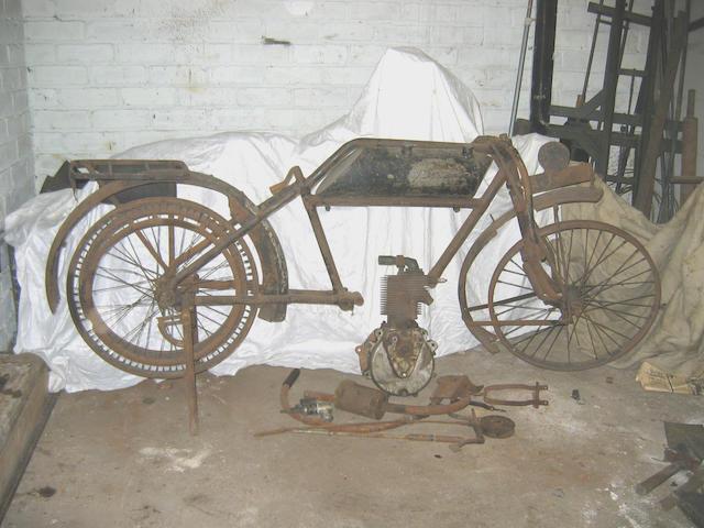 1904 Waddington 3hp  Engine no. 2915