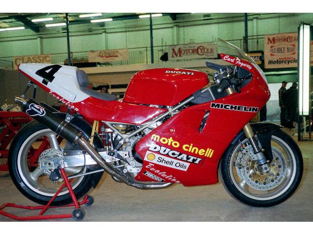 The ex-Carl Fogarty, Michael Rutter, Northwest 200-winning,1993 Ducati 888 Corsa  Frame no. ZDM888S002154