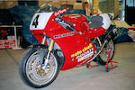 The ex-Carl Fogarty, Michael Rutter, Northwest 200-winning,1993 Ducati 888 Corsa  Frame no. ZDM888S002154