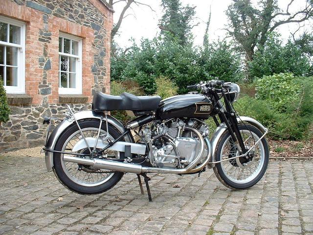 1948 Vincent HRD 998cc Series B Rapide